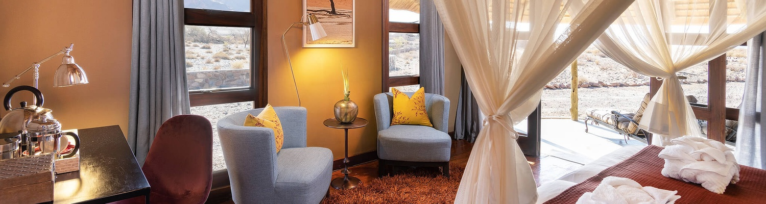 hoodia desert lodge rooms