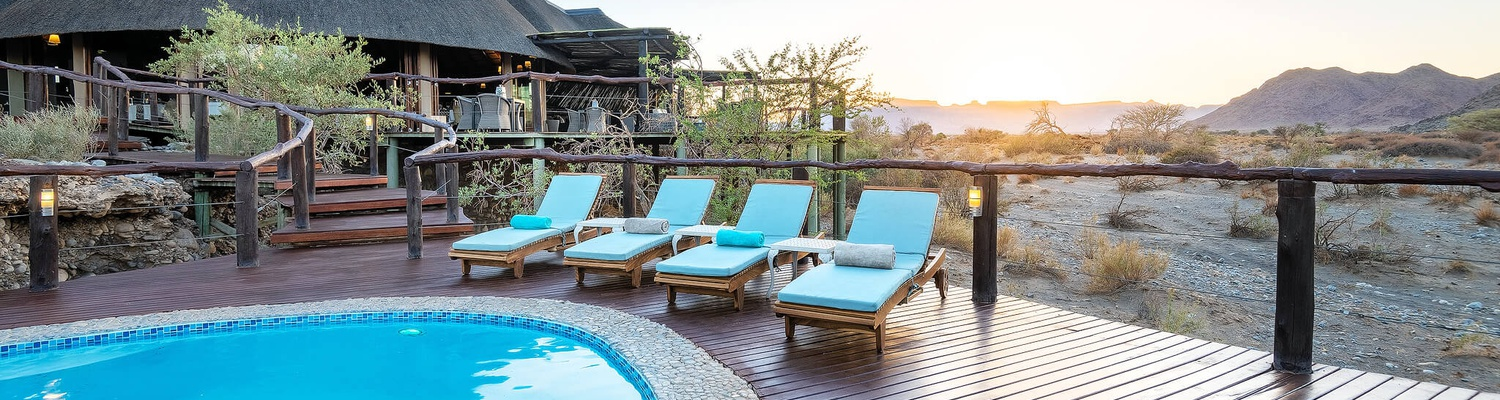 hoodia desert lodge pool